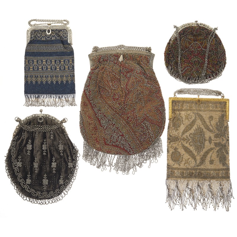 Collection of Art Deco Beaded Handbags