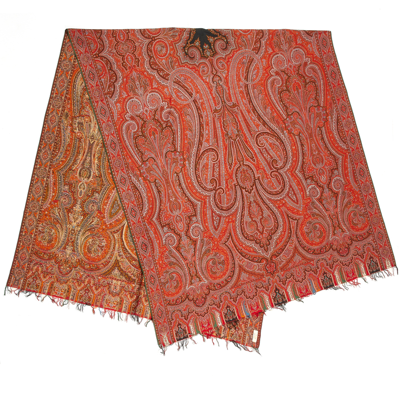 Kashmir Long Shawl (Dochalla)