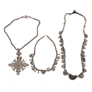 Collection of Ethiopian Silver Necklaces