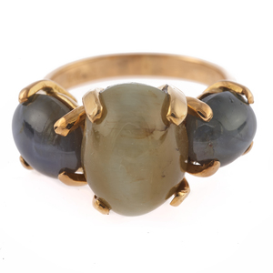 Cat's Eye Chrysoberyl, 18k Yellow Gold Ring