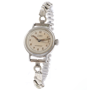 Cartier Stainless Steel Ladies Wristwatch
