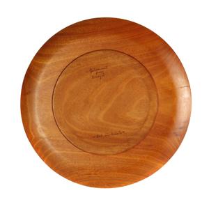 Bob Stocksdale (1913-2003): Golden Wood Turned Platter