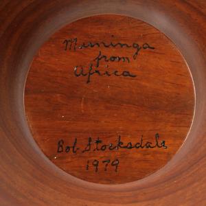 Bob Stocksdale (1913-2003): Maninga Wood Turned Vessel
