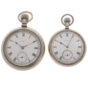 Collection of Two Elgin Pocket Watches