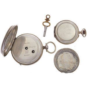 Collection of Two Silver Pocket Watches