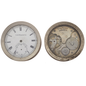 Two American Waltham Desk Clocks