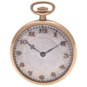 Tavennes Swiss Gold-Filled Pocket Watch