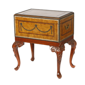 George III style Trunk on Stand