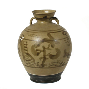 Cizhou-Type Glazed Vase