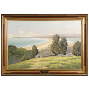Edwin C. Siegfried (American 1889-1955) Pastel