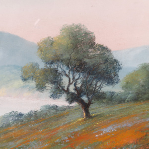 Harry Linder (Californian,1886-1931) Pastel on Paper
