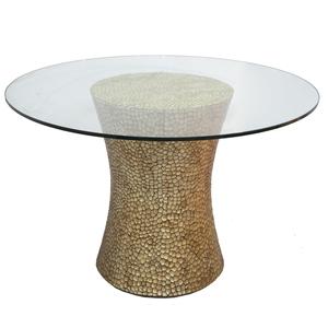 Moderne Gilt Center Table