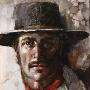 Gigi Gallant (American d. 2009) Oil Painting