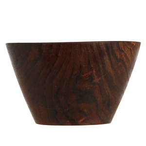 Stocksdale Black Walnut Carved Bowl