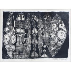 Edward S. Marecak (American 1919-1993) Print