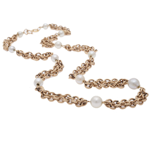Cultured Pearl, 14k Necklace
