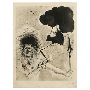 Salvador Dali (Spanish, 1904-1989) Etching