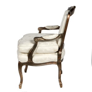 Louis XV Style Silver Gilt Fauteuil