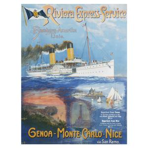 Riviera Express, VIntage Advertisement