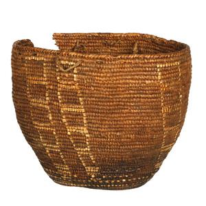 Native American Woven Burden Basket