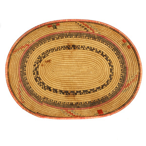 African Husa Oval Tray
