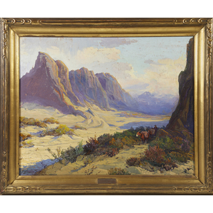 Fred Grayson Sayre  (American, 1879 - 1939) Valley of Gold
