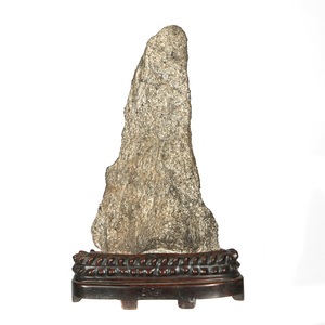 Scholar's Rock with Wood Stand