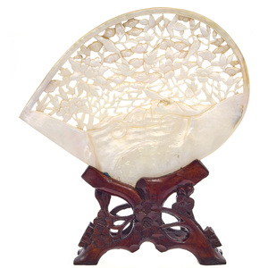Carved Mother-of-Pearl Shell, late 19th/early 20th century