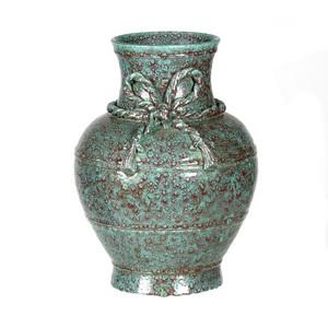 Robin's Egg Glazed Vase