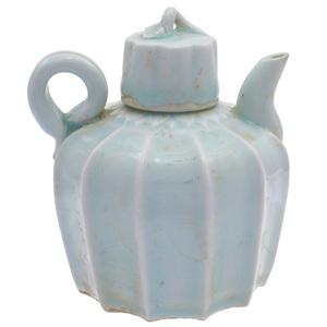 Qingbai Glazed Teapot, Southern Song dynasty