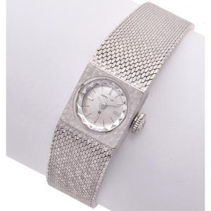 Ladies Hamilton 14k White Gold Wristwatch