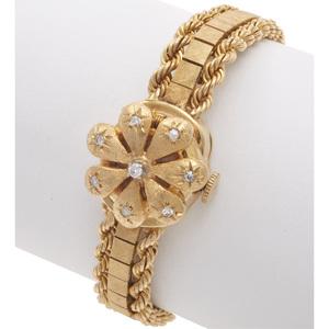 Wittnauer Diamond, 14k Covered Wristwatch