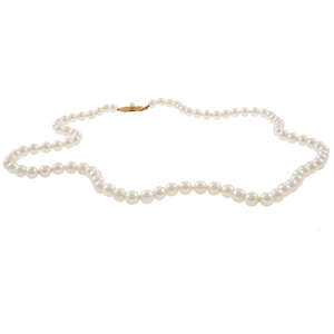 Mikimoto Cultured Pearl, 18k Necklace