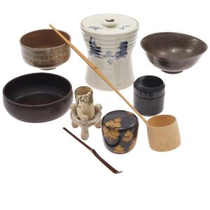 Japanese Tea Ceremony Set, 20th Century