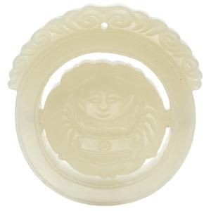White Jade Revolving Pendant, Qing Dynasty