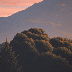 Kathleen Lipinski, Mt. Tamalpais at Sunset