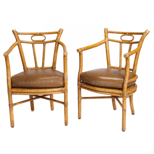 Pair of McGuire Chairs