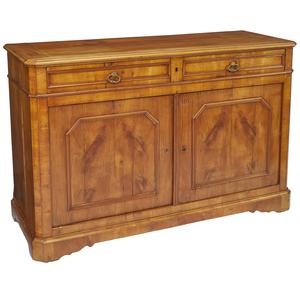 Biedermeier Cherry Side Cabinet