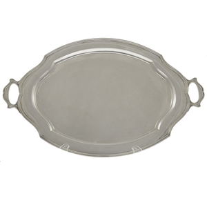 Large Reed and Barton Sterling Hepplewhite Tray