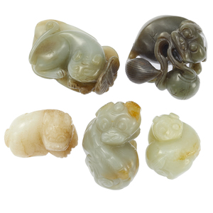 Five Jade Beast Toggles