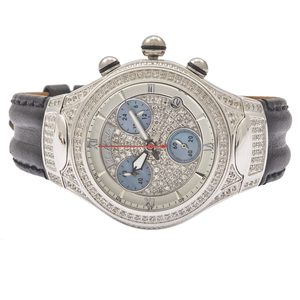Joe Rodeo Diamond, Stainless Steel, Chrono Watch