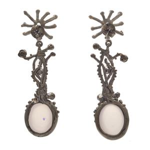 Rose Quartz, Amethyst, Topaz Earrings and Ring Set