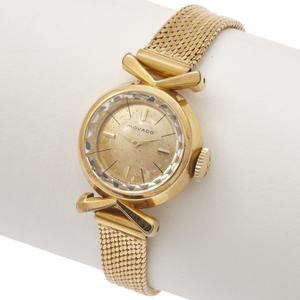 Ladies Movado 18k Yellow Gold Wristwatch