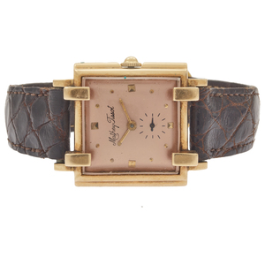 Mathey Tissot Retro 14k Yellow Gold Gent's Wristwatch
