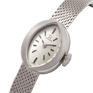 Ladies Omega 14k White Gold Wristwatch