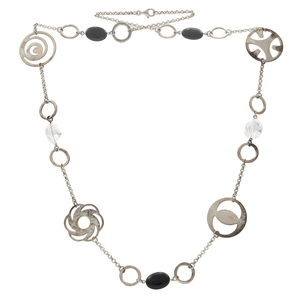 Collection of Sterling Silver, Stone, Glass Necklaces