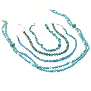 Group of Jay King Turquoise, Sterling Silver Necklaces