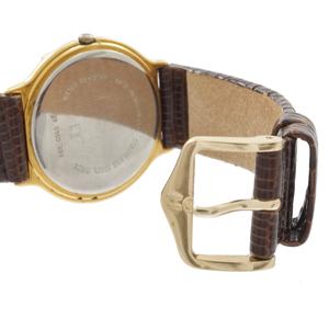 Zenith Chronograph, Gold Plated Quartz Wristwatch