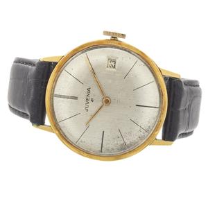 Gent's Juvenia Slimatic 18k Yellow Gold Wristwatch