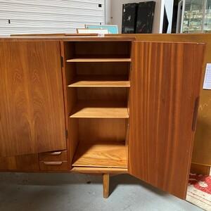 Danish High Credenza/Sideboard